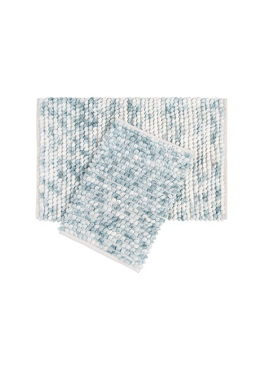 İrya Banyo Paspası Ottova (%80 Polyester %20 Pamuk) Sılver 60*90-40*60 Yeşil